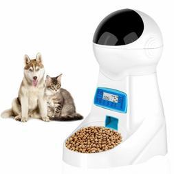 JOYTOOL Automatic Cat Feeder Pet Dog Food Dispenser Feeder F
