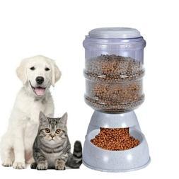 Automatic Cat Feeder Pet Dog Water Bottle Dispenser Travel F