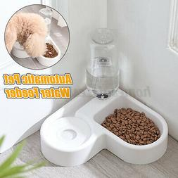 Automatic Cat Feeder Pet Dog Water Bottle Dispenser Travel F