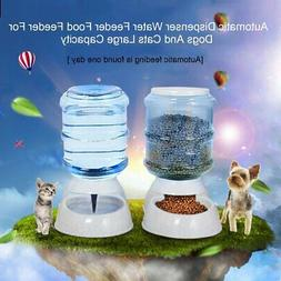 Automatic Dispenser Water Feeder Food Feeder For Dogs And Ca