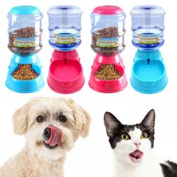 Automatic Dog Feeder and Water Fountain Auto Food Dispenser