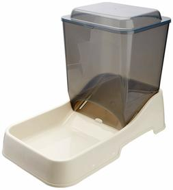 Automatic Dog Feeder Gravity Food Dispenser Tray Large Pet R