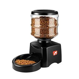 ICOCO 5.5L Automatic Pet Feeder with Voice Message Recording
