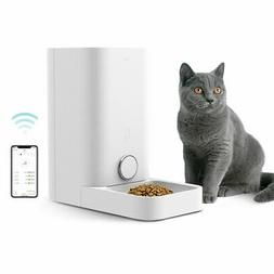 Automatic Pet Cat Dog Smart Feeder Wi-Fi Remote Control Alex