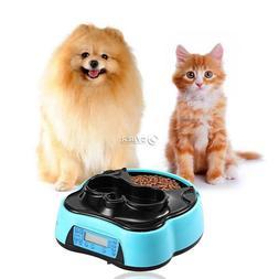 Automatic Pet Feeder Dog Cat food dispenser Programmable Tim