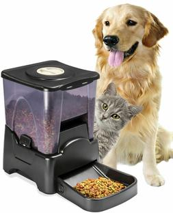 Automatic Pet Feeder Dog Cat Programmable Animal Food Bowl A