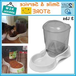 Automatic Pet Feeder Dog Cat Food Bowl Auto Dispenser,Stabil