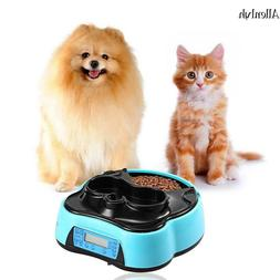 Automatic Pet Feeder Dog Cat Timer Programmable Animal Food