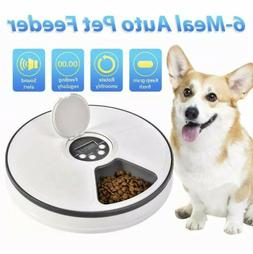 Automatic Pet Feeder Food Dispenser Dogs Cats Small Animals