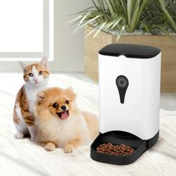 Automatic Pet Feeder Food Dispenser for Dog and Cat w/Voice