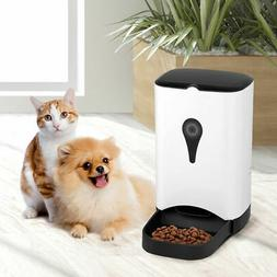 Automatic Pet Feeder for Dog Cat Food Dispenser Voice Record