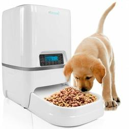 SereneLife Automatic Pet Feeder - Electronic Digital Dry Foo