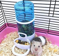 Old Tjikko Automatic Pet Feeder Waterer,Bird Hamster Small A