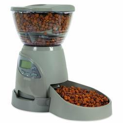 Automatic Pet Food Dispenser Feeder Petmate Portion Right Ca