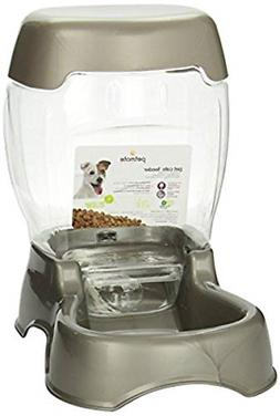 Automatic Pet Food Feeder Dispenser Large Slow Bowl Dog Cat