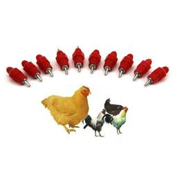 Automatic Water Nipple Drinker Waterer Feeder For Poultry Ch