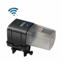Automatic Wifi Aquarium Fish Food Feeder Adjustable Food Dis