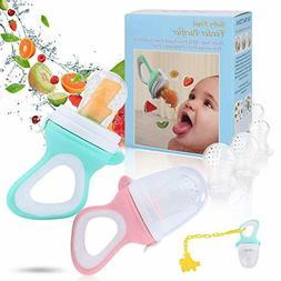 Baby Food Feeder - Baby Fruit Feeder Pacifier- Fresh Food Fe