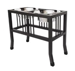 "Baron Elevated Double Diner - 18"" Tall"