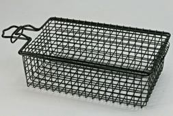 Basket Suet Feeder With Folding Door And Clasp.