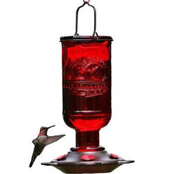 Bee-Proof Hummingbird Feeder For Outdoors Ring Bottle Outdoo