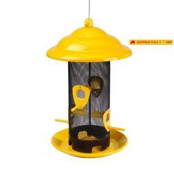 Belle Fleur - Bird Feeders 50147 Bird Feeder, Yellow