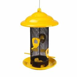 Belle Fleur Yellow Bird Feeders 50147 Bird Feeder,FREE SHIPP