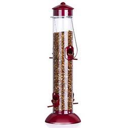 Best Bird Feeder Classic Tube Feeder Outdoor Hanging Wild Bi