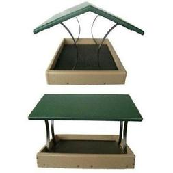 Bird's Choice Wrought Iron & Recycled Poly Fly-Thru Bird Fee