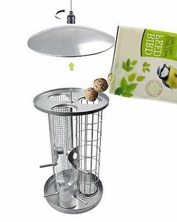 KALLAK Bird Feeder for Outside, Suet Fat Ball/Nut/Seed Feede