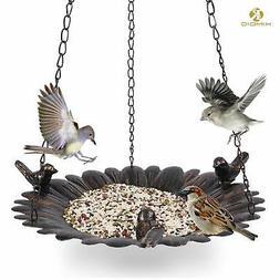 Kimdio Bird Feeder Hanging Tray Seed Tray for Bird Feeders/B