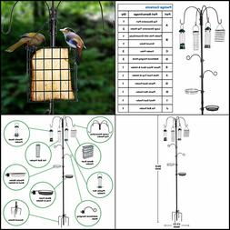Bird Feeder On Sale Pole Wild Bath Squirrel Proof Seed Stati
