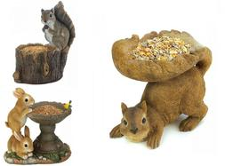 Bird Feeders For Outside Wild Seed Front Yard Decor Woodland