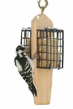 Birds Choice Double Cake Hanging Suet Feeder