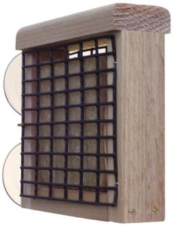 Birds Choice Window-Mount Suet Feeder