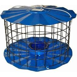 Bluebird Feeder - Includes Meal Worm Cup - Designed To Keep
