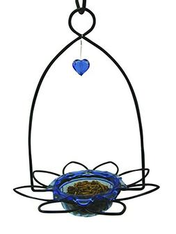Birds Choice Bluebird Flower Feeder Small Blue
