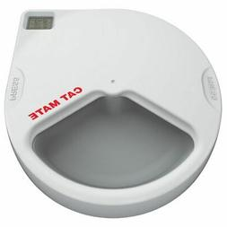 Cat Mate C300 Automatic 3 Meal Pet Feeder with Digital Timer