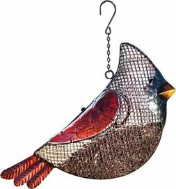 Cardinal Mesh Bird feeder Evergreen Enterprises Seed Decorat