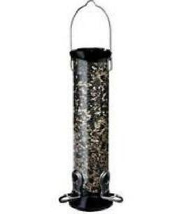 Droll Yankees CC12N 12-Inch Onyx Nyjer Tube Bird Feeder with