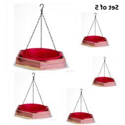 Pennington 100509196 Hanging 2-in-1 Bath and Bird Feeder, 4