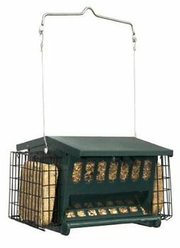 cherry valley feeder hopper feeder with suet