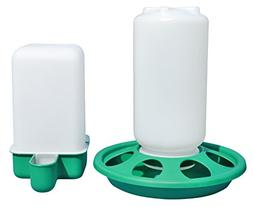 Chick Feeder and Small Cup Waterer Set