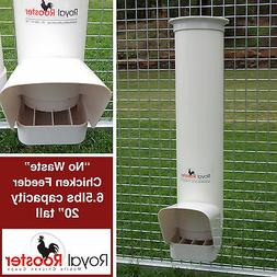 ROYAL ROOSTER Chicken / Poultry Coop - Single Feeder