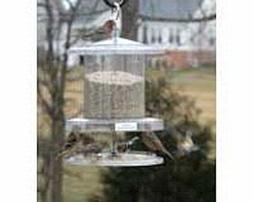 Songbird Essentials Clear All Weather Bird Feeder 6 Qt.