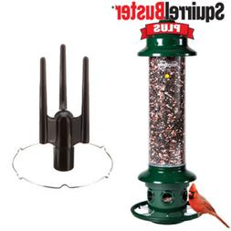 Complete! Brome Squirrel Buster Plus Bird Feeder and Accesso