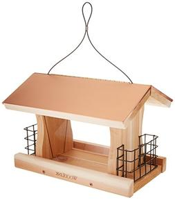 WoodLink COP4 Coppertop Deluxe Feeder with Suet Cages