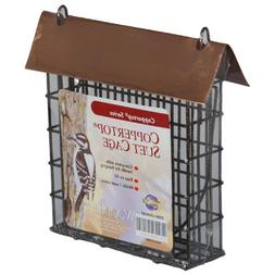 WoodLink COPSUET Brushed Copper Suet Cage
