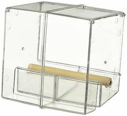 Creative Foraging Systems Seed Corral No Mess Pet Feeder, Ke