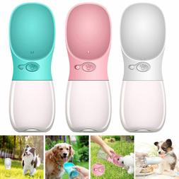 Cup Puppy Dog Cat Pet Water Bottle Drinking Outdoor Portable